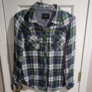 RAILS Flannel button down